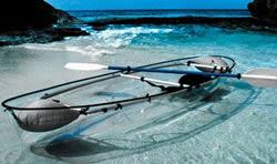 Genomskinlig kanot