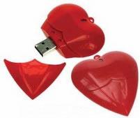 USB-hjärta
