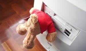USB teddybjörn